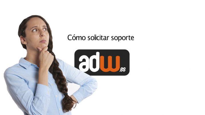 Abrir Ticket en el Centro de Soporte de ADW.es