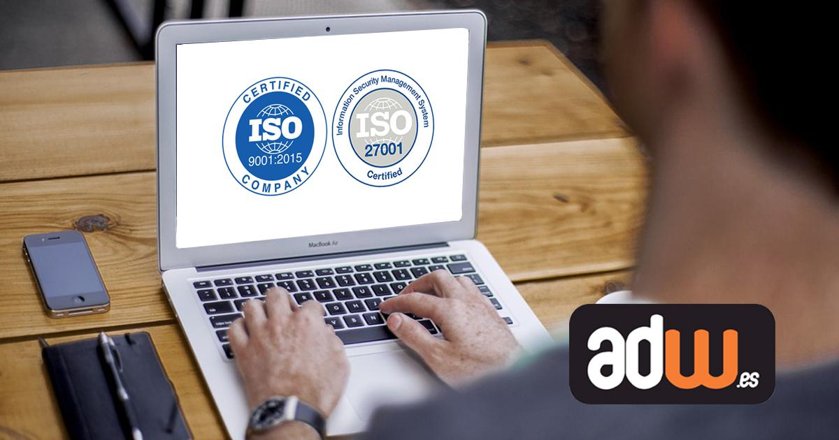 ISO 9001 y 27001