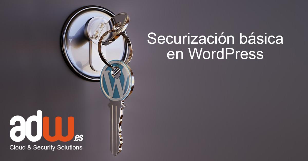 securizacion en WordPress