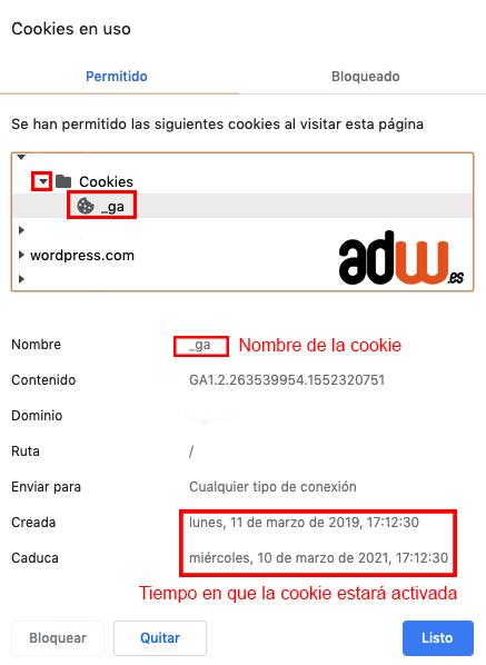 ver cookie