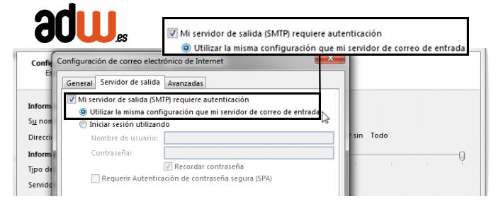 mi servidor requiere autenticacion