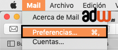 preferencias mail
