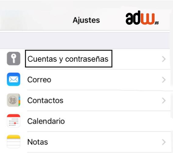 configuracion mail