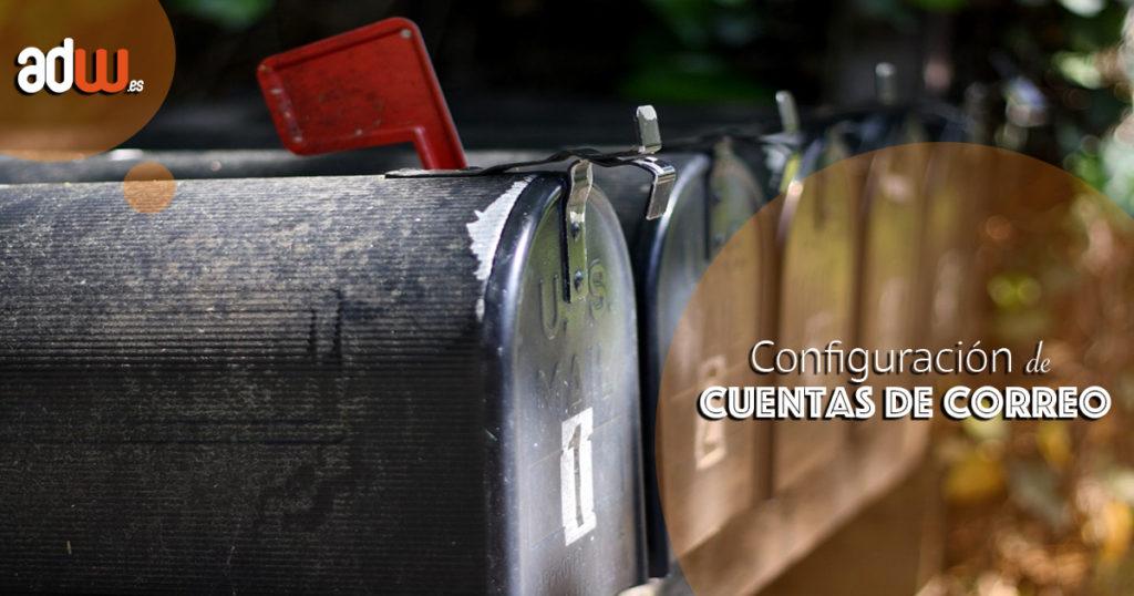 Configuraciones de correo