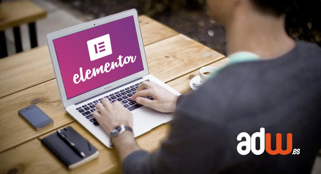Iniciación a Elementor: Crear una página o una entrada con el plugin Elementor